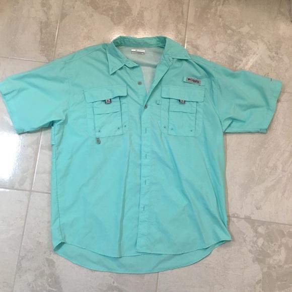 81066dfdea8 Columbia Shirts | Pfg Short Sleeve Gulf Stream Fishing | Poshmark
